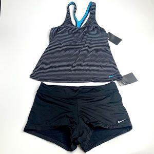 Nike Swim / Workout Two Piece Black Size M